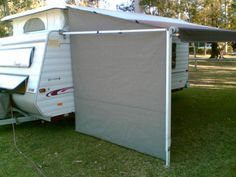 how to make a cheap canopy for trailer rv - Google Search