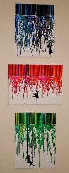 Crayon melt craft