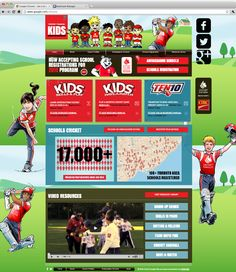 Cricket Canada Kids