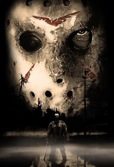 Freak Show Ticket Poster 19 x Jason Voorhees // Friday the Jason Voorhees, Arte Horror, Horror Art, Mago Tattoo, Horror Movie Characters, Horror Icons, Classic Horror Movies, Gif Animé, Friday The 13th
