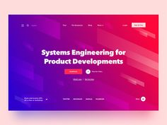 Website Header design UI is the First thing that needs to be designed for a