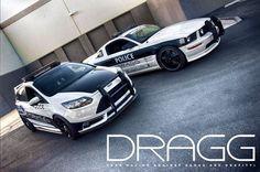 Ford focus ST police car