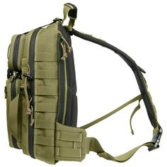Maxpedition - Sitka Gearslinger -- Sling Bag --- Single shoulder backpack designed to maximize utility when rotated towards front of body.