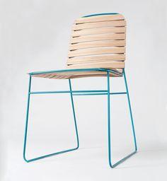 Filou chair délicate chaise par Nui Studio