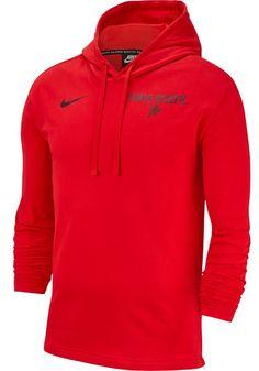 aaf40aa518d2 Nike Ohio State Buckeyes Mens Red SJY Club Long Sleeve Hoodie - 12552342