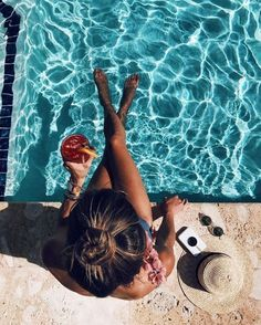 Daily grind ☕ 🇫 🇷 life is a beach summer photography, summer Pool Poses, Beach Poses, Photo Summer, Summer Photos, Summer Beach, Late Summer, Summer Diy, Pool Photography, Photography Business