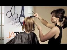 To see more of our education videos, visit: http://www.JataiAcademy.com Throughout the sands of haircutting time the bob has always been a favorite. Each sea...