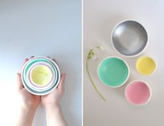 DIY Air Dry Clay Jewelry Bowl So doing these next weekend!! More