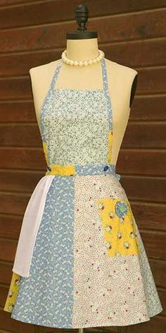 Vintage apron by Chinabird