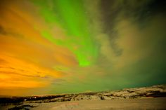 Astrophotographer Sanjiv Modi captured this image of the Northern Lights from Alta, Norway on March 18 and 19, 2013.