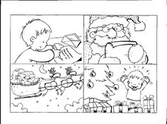 give verbs: écrire, lire, venir, ouvrir, etc. - students write sentences to describe images