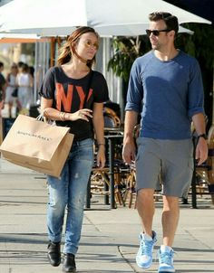 In love with Olivia Wilde's casual style