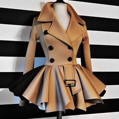 """2,264 Likes, 125 Comments - Nicci Hou Collection (@niccihoucollection) on Instagram: """"Nicci Hou Collection Trench Peplum Jacket"""""""