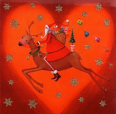 Mila Marquis — Christmas Post Сard (700x690)
