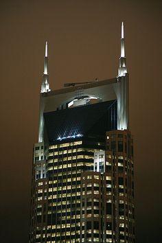 Nashville Batman Building, a Nashville landmark #BFFNashville