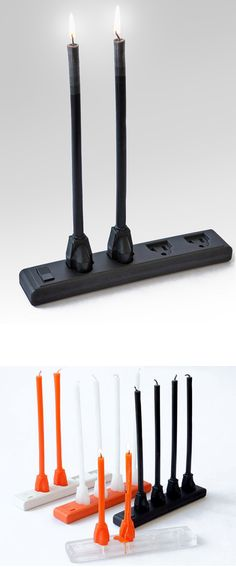 Extension cable candles - cool product design