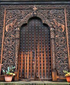 Viking Gates - Norsk Folkesmuseum - Oslo
