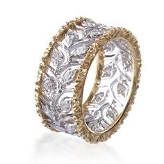 Fine Italian design aesthetic and craftsmanship by Buccellati Milano - available at Simons Jewelers.