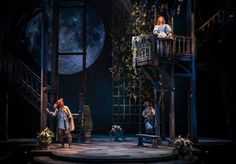 Chicago Shakespeare Theater: Cyrano de Bergerac. Set design by Kevin Depinet.