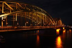 Bridge in Cologne, Germany by Andrea Leung on 500px