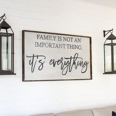 Family is Not an Important Thing | Wood Sign ** WRD ORIGINAL** farmhouse signs, rustic signs, fixer upper style, home decor, rustic decor, inspiring quotes, wood sign sayings, magnolia market, rustic signs, boho, boho style, eclectic living, living room inspiration, gallery wall decor, gallery wall signs, joanna gaines decor