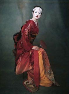 Gong Li by Paolo Roversi