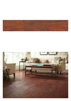 This Allure Cherry Vinyl flooring looks spectacular. Its easy care and durability resists scuffs and scrapes from kids, pets and heavy traffic. It's a cost effective, easy install option for basements, kitchens, bathrooms and hallways. Check out our wide selection of laminate, vinyl and engineered hardwood flooring at The Home Depot.