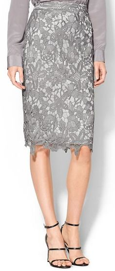 pretty pastel floral pencil skirt http://rstyle.me/n/utpz4r9te