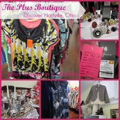 Plus Boutique in Hartville, Ohio http://www.sistersshoppingonashoestring.com/hartville-plus-shop-tool-exchange
