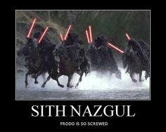 Oh snap!!! Haul a$$ Frodo!!!
