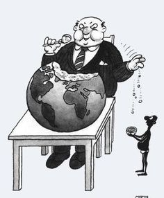 trickle-down theory in practice.