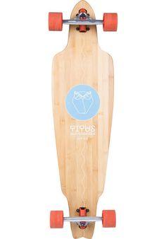 TITUS ROD Owl Bamboo Longboard-komplett bamboo | Titus Onlineshop