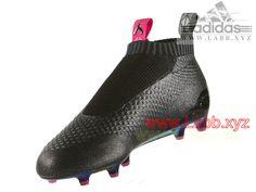 official photos d63d5 2ef0c Adidas Football Homme Chaussure ACE 16+ PURECONTROL terrain Shock Pink  Solar Green souple AQ2669
