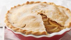 """It's a classic for a reason. Making an apple pie from scratch is so much easier than you might think, especially with this time-tested pastry dough recipe. Just watch for those big smiles when you announce, """"We're having apple pie for dessert. Apple Pie Recipes, Apple Desserts, Dessert Recipes, Pastries Recipes, Baking Desserts, Betty Crocker Apple Pie, Ciabatta, Apple Pie Cake, Apple Pies"""