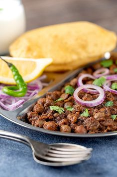 The best Punjabi chole recipe you can find is right here! Straight from my grandmother's kitchen to yours, you will not find a more authentic tasting recipe. Though it tastes just like the traditional version, we use a modern twist and make my Punjabi chole in the Instant Pot. One taste of this perfectly cooked chickpea dish and you won't want to eat this any other way. Most Popular Recipes, Amazing Recipes, Favorite Recipes, Delicious Vegan Recipes, Vegetarian Recipes, Easy Dinner Recipes, Sweet Recipes, Masala Spice, Dry Chickpeas