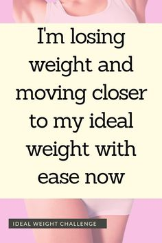 I'm losing weight and moving closer to my ideal weight with ease now - Affirmation for losing weight - Click through for more Makeup Dupes Palette Art Care Weight Loss Meals, Herbal Weight Loss, Medical Weight Loss, Weight Loss Workout Plan, Weight Loss Challenge, Diet Plans To Lose Weight, Losing Weight Tips, Easy Weight Loss, Weight Loss Program