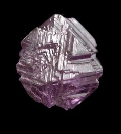Diamond Pink Crystal - Mirny, Republic of Sakha, Siberia, Russia