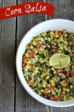 Fresh Corn Salsa Recipe + 2013 Summer of Fun