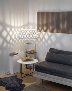 These shadows though😍 Two favorites in the same picture: Pilke 60 pendant and Mixrack tables. Nordic Lights, Living Room Inspiration, Shadows, Tables, Furniture, Pendant, Home Decor, Mesas, Northern Lights