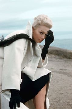 Kim Novak in Vertigo. 1958
