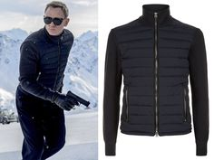 Get your very own piece of the action with this new Tom Ford Bomber jacket worn by Daniel Craig in the new James Bond movie for his role as 007. This piece has been expertly crafted to be an exact replica from the upcoming Bond movie, Spectre. Design with front down filled quilted paneling alongside luxurious wool knitted sleeves and reverse will make this piece of comfort this Winter!  http://www.bonanza.com/listings/Tom-Ford-SPECTRE-Knitted-Sleeve-Bomber-Jacket-James-Bond/297064894