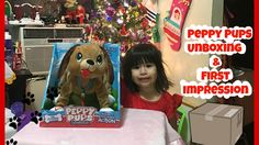 Peppy Pups Unboxing & First Impression January 11, 2016 A Few Moments Wi... . . . #ToyReview #ToyUnboxing #PeppyPups #KidVlogger #YoutubeMom
