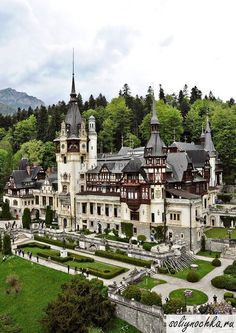 """royals-and-quotes: """" PELES CASTLE - Located in Sinaia, Romania, Peles Castle is considered by many one of the most beautiful castles in all Europe. Beautiful Castles, Beautiful Buildings, Beautiful World, Beautiful Places, Amazing Places, Beautiful Pictures, Menorca, Oh The Places You'll Go, Places To Travel"""