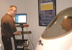 Bod Pod tests for fat ratio