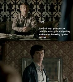 Texts From 221b Baker Street--- this one made me snort