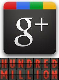 Google+ Crossed The 100 Million Users Milestone.