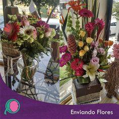 Que los detalles nunca mueran REGALA FLORES!! #EnviandoFlores  #UnHermosoDetalle #UnaOcasionEspecial #Flores #CanastasFlorales #ArreglosFlorales