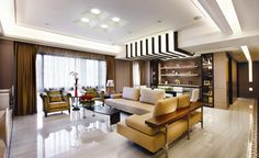 The owners of luxury apartments are not always seeking ostentatious status in a show-off style, and the lots in Tienmu Shibayama, whilst offering enviable settl