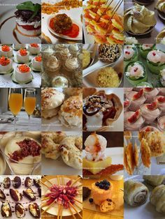 Canapés y otr Fall Recipes, Sweet Recipes, Kitchen Recipes, Cooking Recipes, Aperitivos Finger Food, Canapes, Quiches, Appetizers For Party, Cooking Time