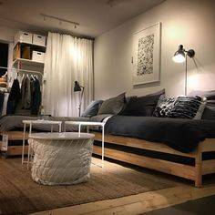 Stack it sleep in it couch it unstack it lounge on it transform it hack it Ikea Hack Sofa, Ikea Hack Lit, Ikea Couch, Ikea Bed, Ikea Small Spaces, Small Space Living, Canapé Diy, Sleeping Couch, Cozy Couch